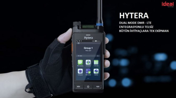 Hytera LTE Entegrasyonlu DMR Telsiz